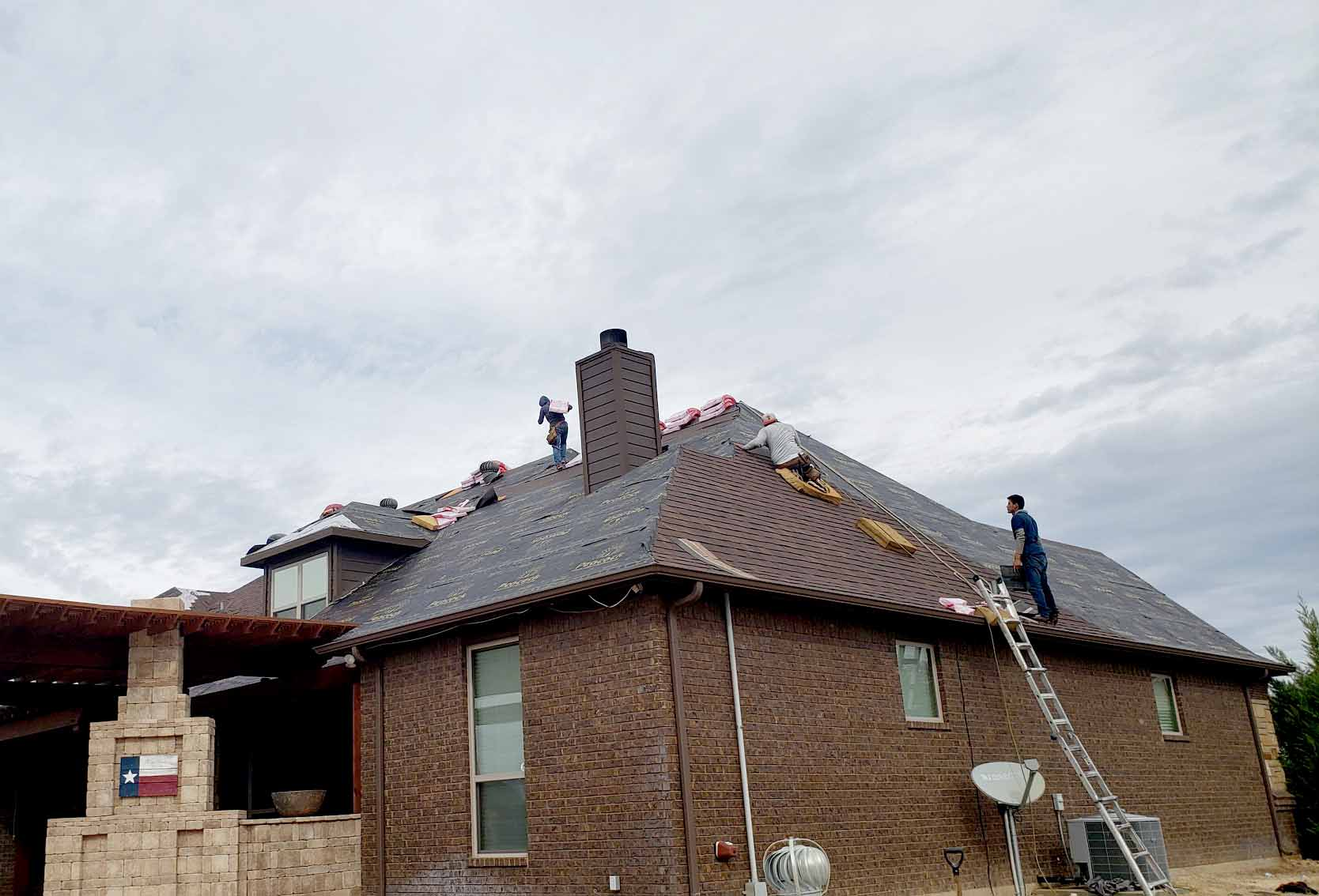 house 2 roof replacement
