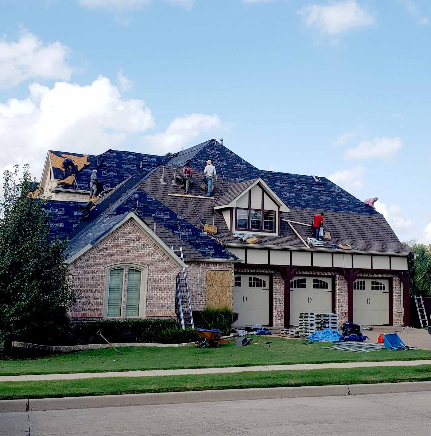 residential home roof repairs